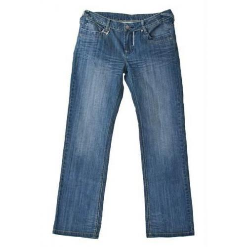 Denim jeans med stretch og ekstra stor livvidde str. 150